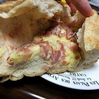 ベーコンチーズフランス(プルネール 天神店)