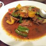 ベトナム風の牛肉炒め
