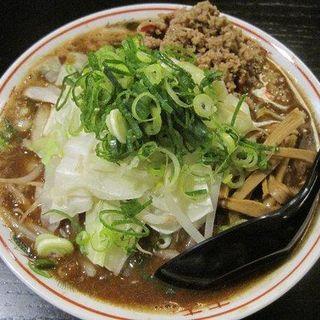 煮込背脂ソバの味噌(ヘルズキッチン )