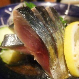 鯖きずし(ほてい寿司 谷四店)