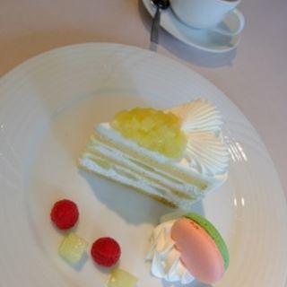 メロンショートケーキ(ホテルニューオータニ幕張 ザ・ラウンジ )