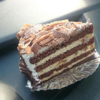 くるみのチョコレートケーキ(ボンジュ-ル )