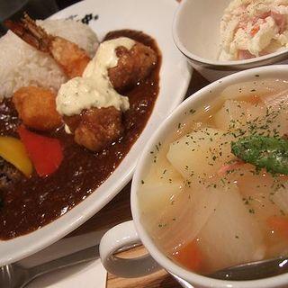 野菜スープ(ボン田中)