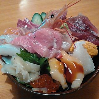 ミニ海鮮丼セット(まあと )