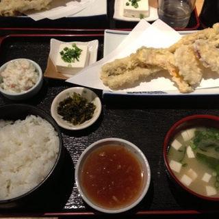 アナゴ天ぷら定食(まさいち)