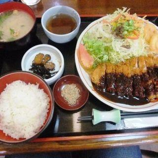 味噌カツ定食(ママン )