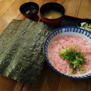ネギトロ丼(まめ寅 りんくうプレミアムアウトレット (【旧店名 内儀厨房 お福さん】))