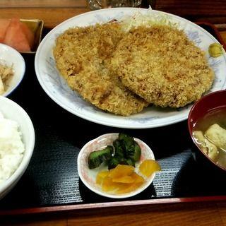 メンチカツ定食(まりも食堂 )