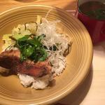 金目鯛ごはん+あさりトマトスープ