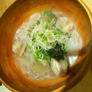あさりと生海苔のライスヌードル(マルモキッチン 京都ポルタ店 )