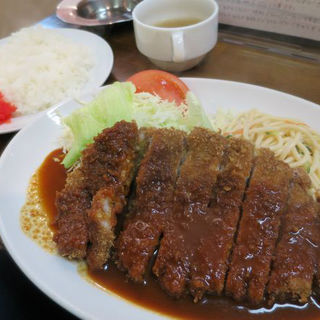 Wトンカツ定食(マルヤ 本店 )