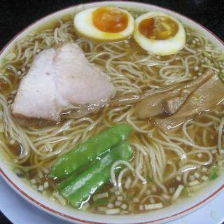 中華そば煮卵入(みずさわ屋)
