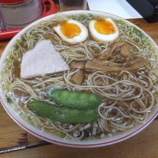 煮卵入り中華そば(並)(みずさわ屋)