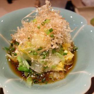 オレンジ白菜と豚肉のおひたし(みゆき乃)