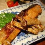 秋鮭のつけ焼き