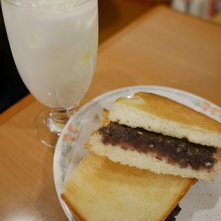 小倉トーストセット(むらやま )