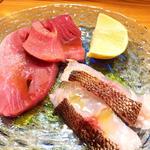 オススメ鮮魚のカルパッチョ