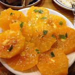 清美オレンジのサラダ