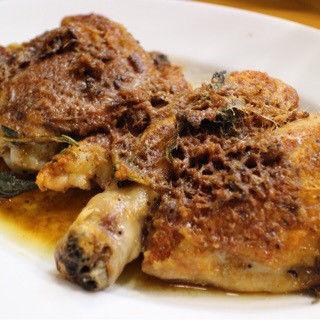 鶏のアンチョビ焼き(メゼババ )
