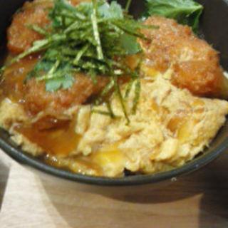 牡蠣カツ丼(メリケンサカナ )