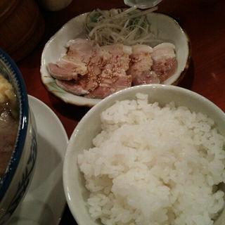 辛い豚カルビご飯(めんや福助 )