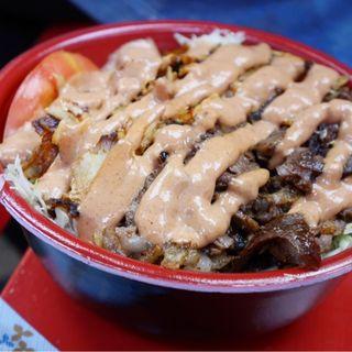 ケバブ丼(モーゼスさんのケバブ)