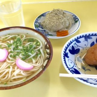 うどん定食(もぎたて新鮮市)