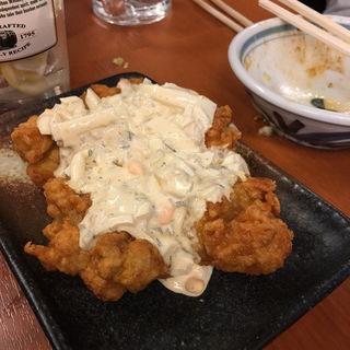鶏唐タルタルソース(もつ千 赤坂店 )