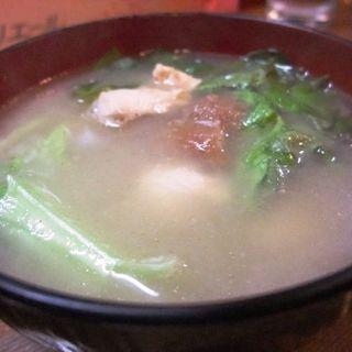 キジの梅干スープ(山鳥 )