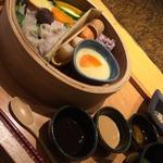 蒸し野菜と蒸し豚のハリハリ定食(やさい家めい ルミネ横浜店 )