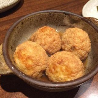出汁たこ焼き(ヤドカリ)