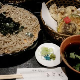 生牡蠣の天ぷらそば(やぶ久 (ヤブキュウ))