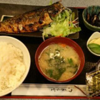 サバ塩焼定食(やまお)