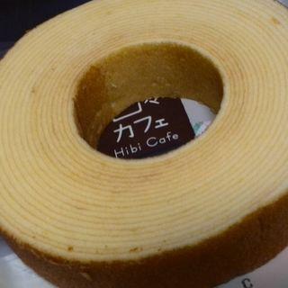 国産小麦のやわらかバームクーヘン(ヤマザキ)
