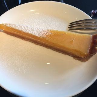 柚子のタルト(ユーゴ・デノワイエ 恵比寿店 (HUGO DESNOYER))