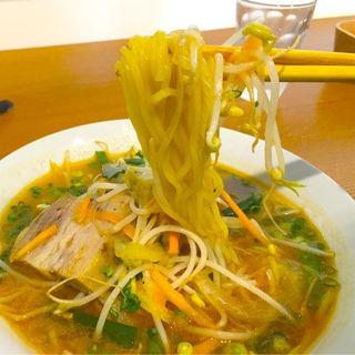 野菜ラーメン(ゆうなパーラー)