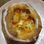 金柑とクリームチーズのデニッシュ