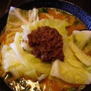 ゴマだれタンタン麺 (太麺)