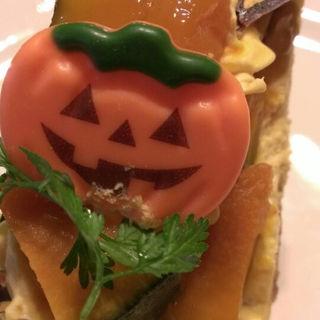 かぼちゃタルト(ラ・メゾン アンソレイユターブル 横浜ららぽーと店 (La Maison ensoleille table))