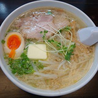 塩ワンタン麺(ラーメン あさひ)