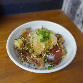 かつおタタキ丼(らーめん かつお拳 )