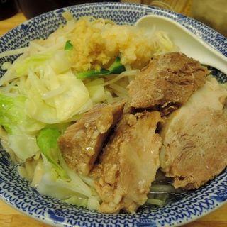 らーめん(にんにく&生姜)太麺中盛(300g)(らーめん きじとら )