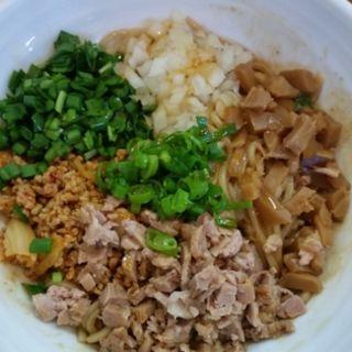 味噌和え麺(らーめん つけ麺 大前田)