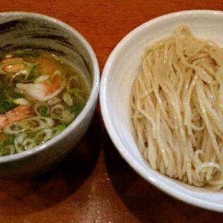 脚赤海老塩つけ麺(らーめん つけ麺 大前田)