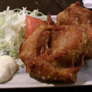 うま鶏の唐揚(ラーメン わんさか )
