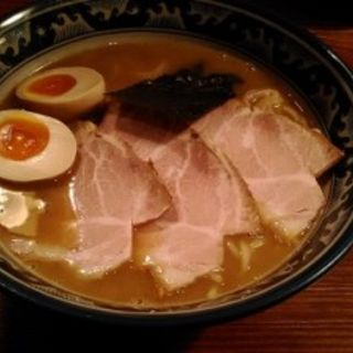 特製らーめん(並 150g・細麺) (らーめん 木尾田 (きおた))