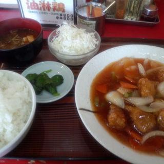 酢豚定食(ラーメン 末広 (らーめん すえひろ))
