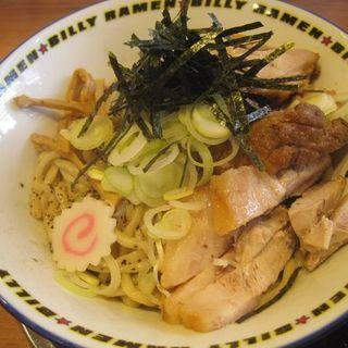 豚入り油そば200g(ラーメン☆ビリー 泉学院前店)