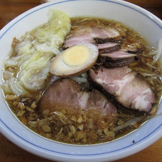 チャーシューワンタンメン(ラーメンかぶとや! )