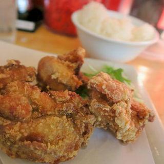 鶏のカラアゲ&小ライスセット(ラーメンこがね家 大蔵谷店 )